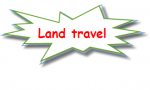 Land travel