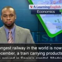 World's longest railway links China and Spain