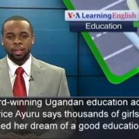 Young activist praises girls' gains in education
